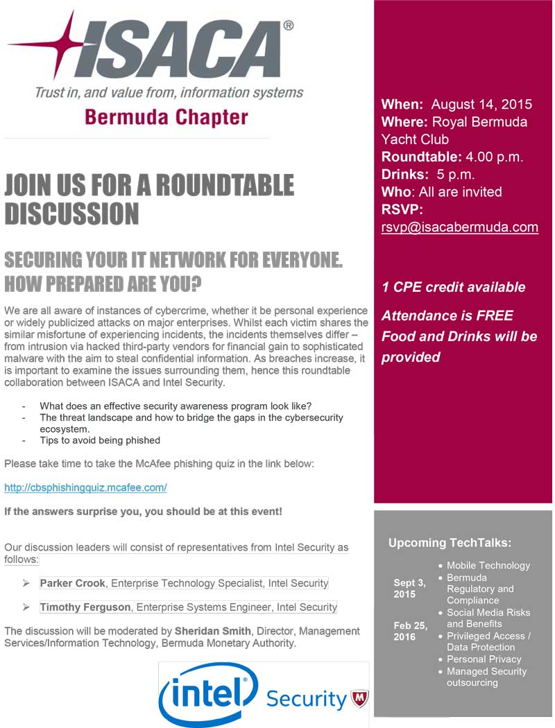 Securing your IT Network Roundtable