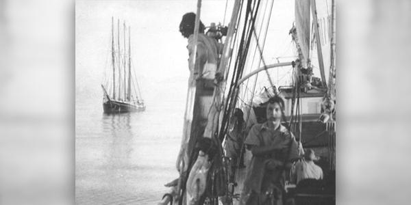 The Canadian schooner James E Newsom