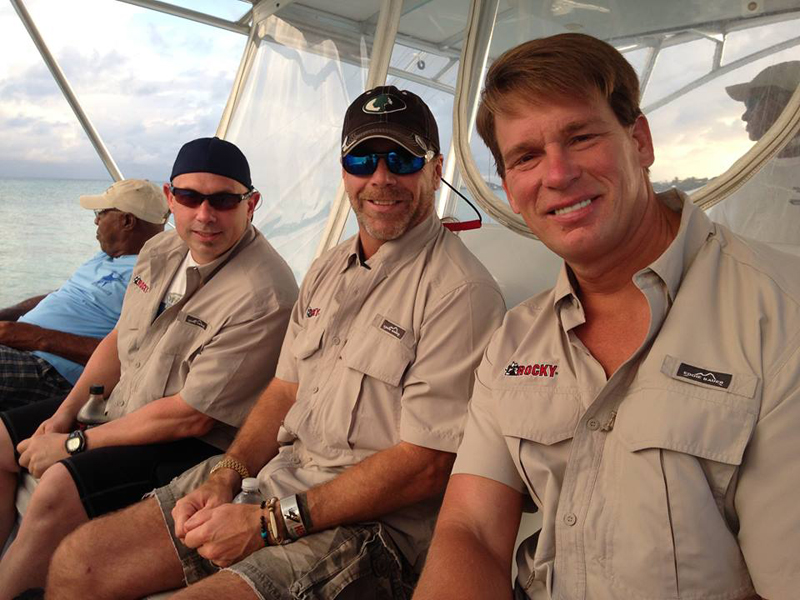 Three WWE Superstars In A Fishing Tournament August 26 2015