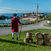 Tobacco bay reenactment Bermuda , August 15 2015