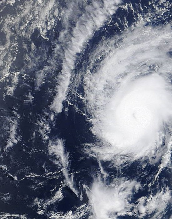 hurricane danny 2015 nasa photo