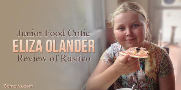 Junior Food Critic Eliza Olander