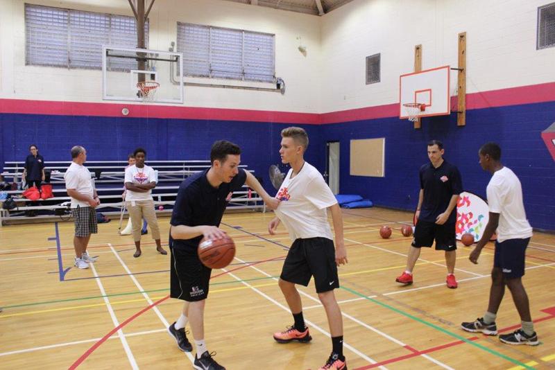 NBA Delivers Clinic To Local Basketball Coaches Bermuda September 2015 (2)