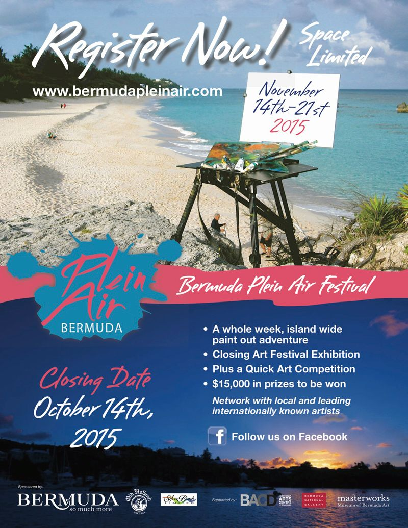 Plein Air - Register Now Bermuda September 2015