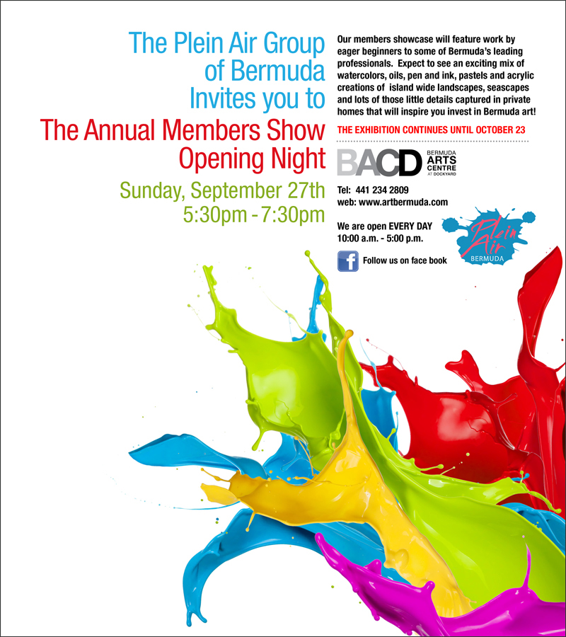 Plein-Air-exhibition-Bermuda-September-2015 Invite