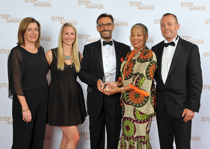 STEP Private Client Awards Bermuda September 2015