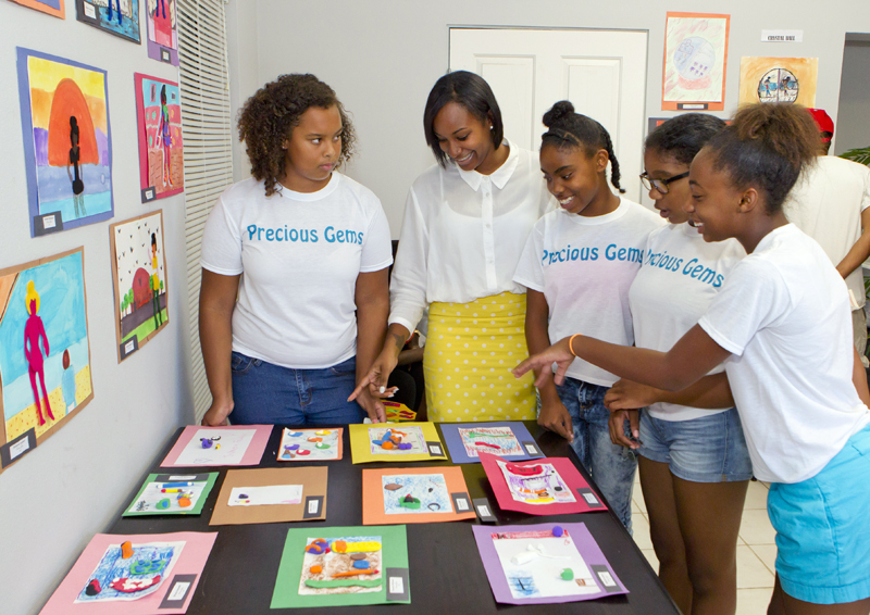 Teen Services held a completion ceremony Bermuda September 8 2015 (2)