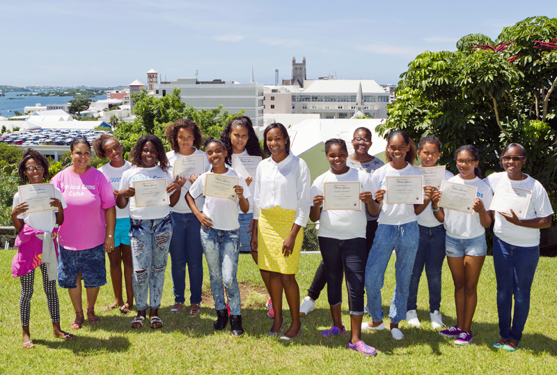 Teen Services held a completion ceremony Bermuda September 8 2015 (3)