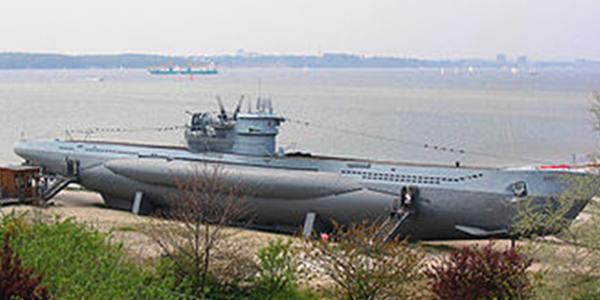 U-995 on display in Germany