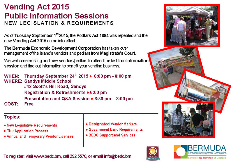Vending Act 2015 Public Information Sessions Flyer Part 3