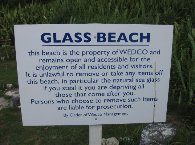 wedco-glass-beach-sign