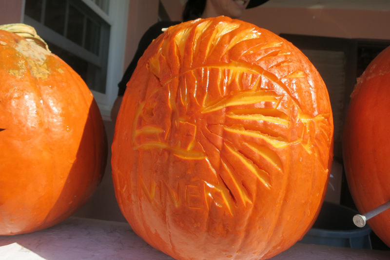 2015 Bermuda Underwater Pumpkin carving Halloween (6)