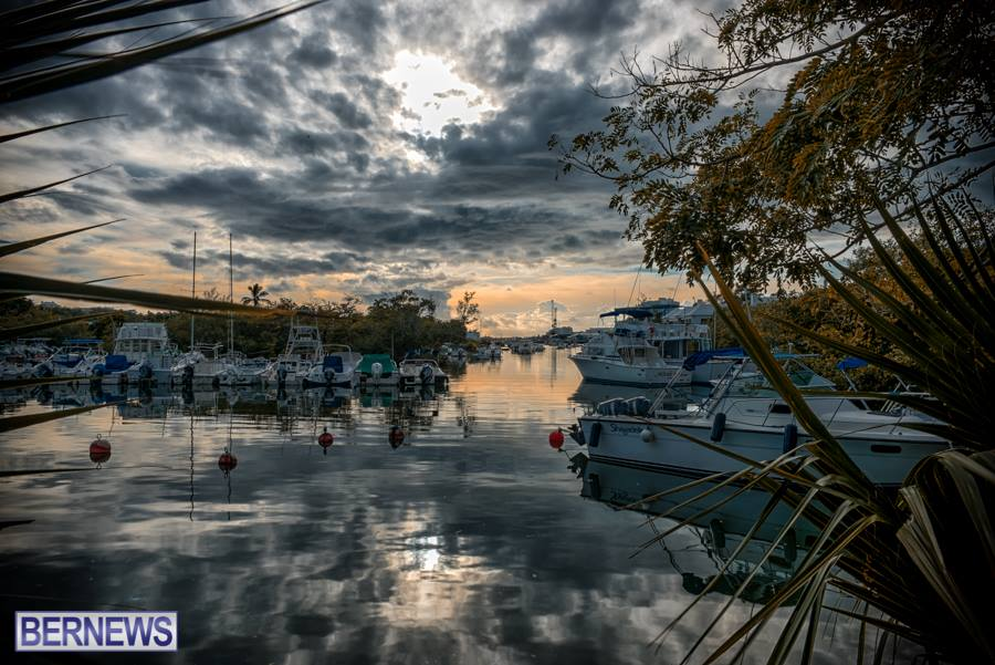 528 Calm Water Sunset Bermuda Generic October 2015