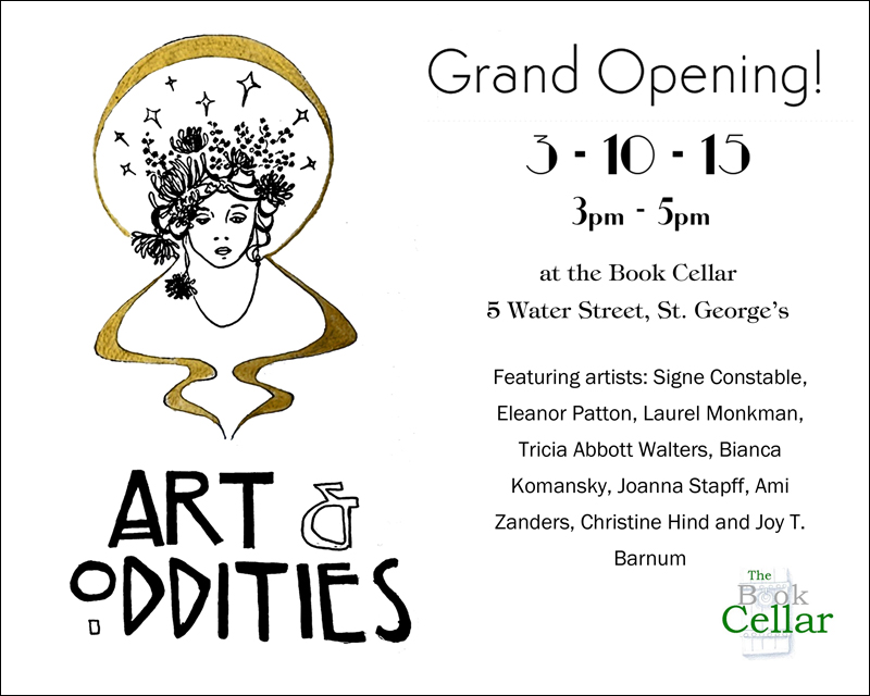 Arts and Oddities opening Bermuda October 2015