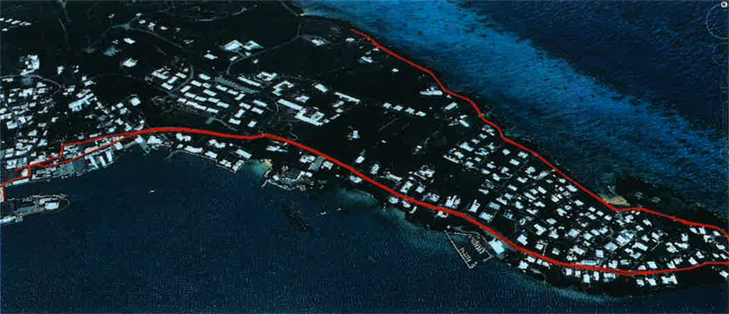 Bank of Bermuda FoundationTriathlon run route October 2015