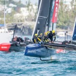 Racing Day 2 of Louis Vuitton America's Cup World Series Bermuda