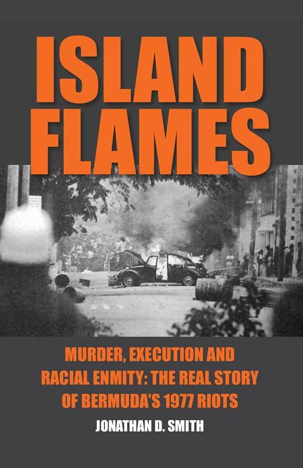 Bermuda Island Flames book cover