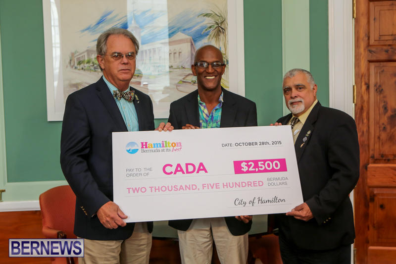 City Of Hamilton Supports CADA Bermuda, October 28 2015-1