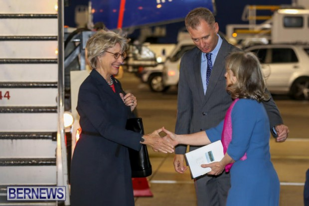 HRH The Duchess of Gloucester Bermuda, October 23 2015-3