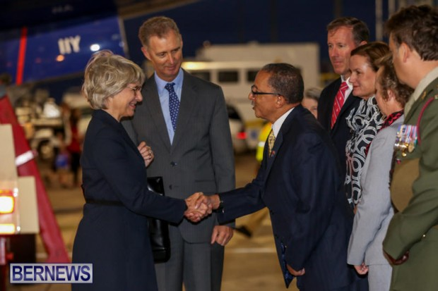 HRH The Duchess of Gloucester Bermuda, October 23 2015-6
