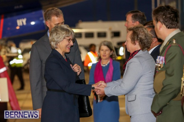 HRH The Duchess of Gloucester Bermuda, October 23 2015-7