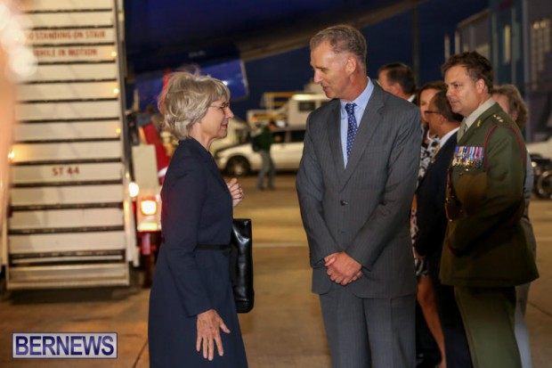 HRH The Duchess of Gloucester Bermuda, October 23 2015-8