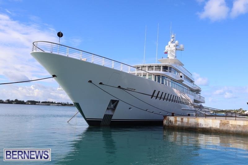 Musashi mega yacht boat Bermuda 2015 (1)