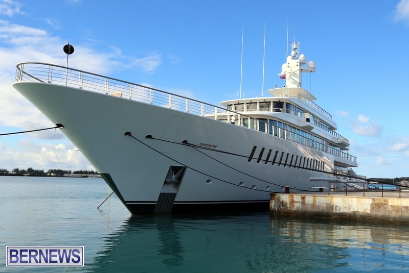 Musashi mega yacht boat Bermuda 2015 (2)