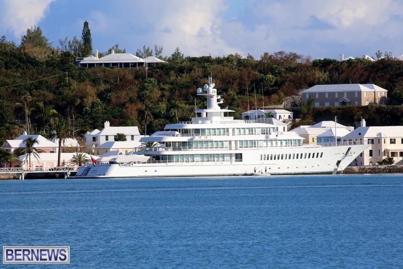 Musashi super yacht in Bermuda 2015 (1)