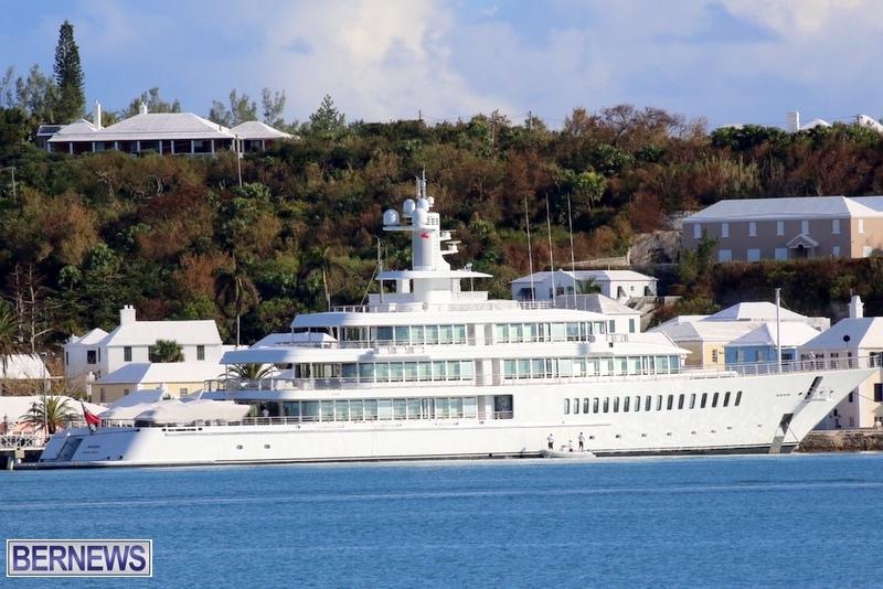 Musashi super yacht in Bermuda 2015 (2)