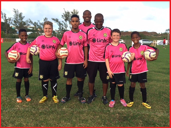 North Village's Kick's For Cancer Campaign 2015 Bermuda October 2015
