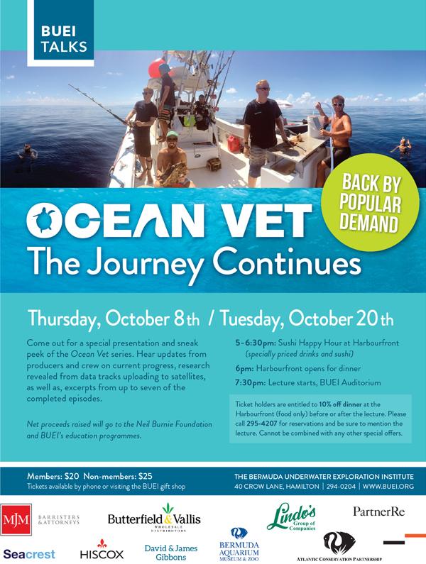 OceanVet_Poster3 Bermuda October 2015