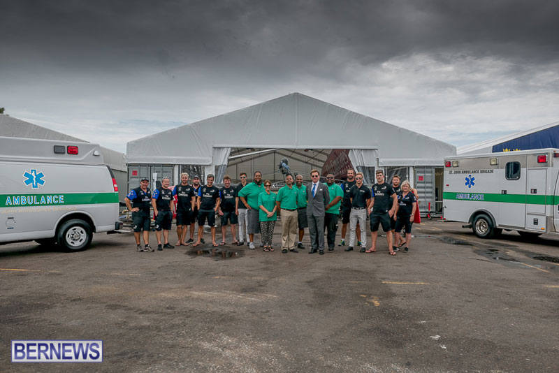 St John's Ambulance & America's Cup