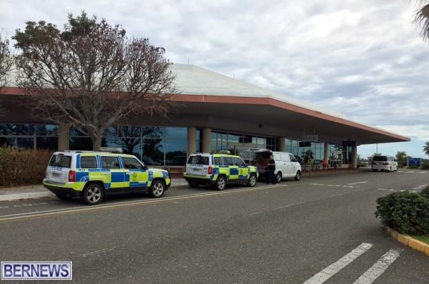 police response bermuda airport oct 15