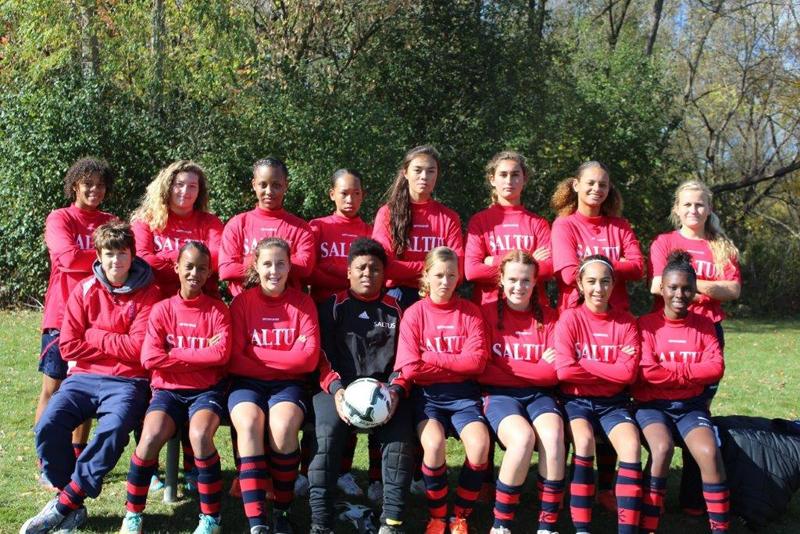 saltus girls football 2015