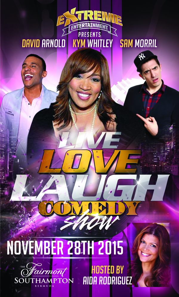 """Live Love Laugh"" Comedy Show Bermuda Nov 28 2015 (1)"