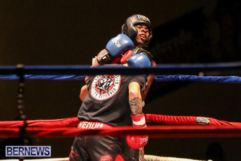 Andre Lambe vs Shane Mello Boxing Match Bermuda, November 7 2015-10