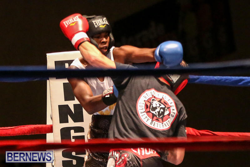 Andre Lambe vs Shane Mello Boxing Match Bermuda, November 7 2015-11