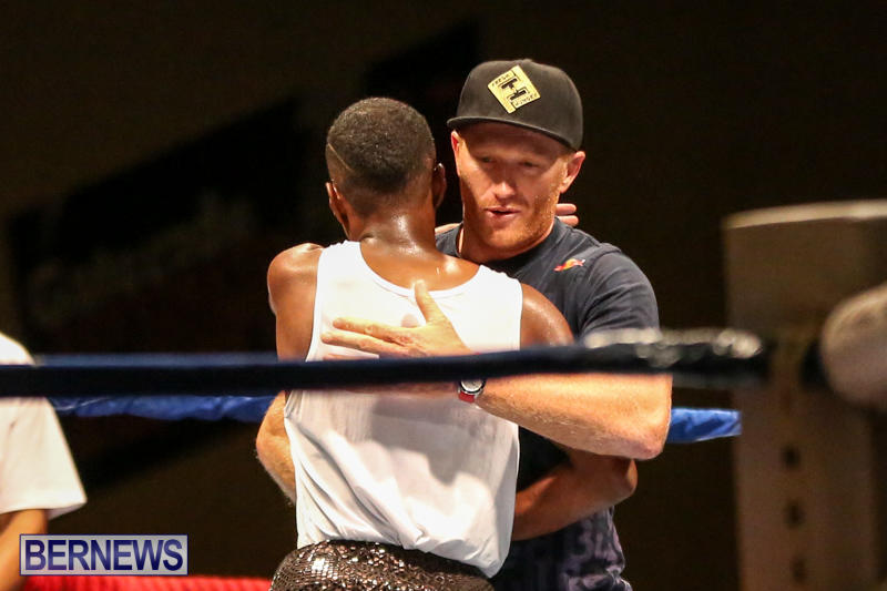 Andre Lambe vs Shane Mello Boxing Match Bermuda, November 7 2015-16