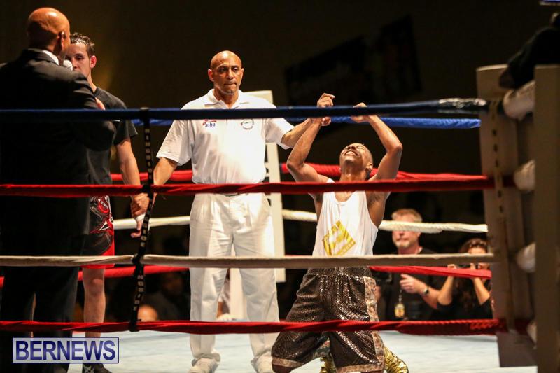 Andre Lambe vs Shane Mello Boxing Match Bermuda, November 7 2015-17