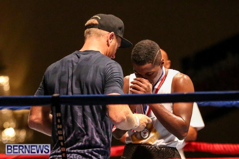 Andre Lambe vs Shane Mello Boxing Match Bermuda, November 7 2015-19