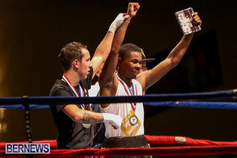 Andre Lambe vs Shane Mello Boxing Match Bermuda, November 7 2015-20