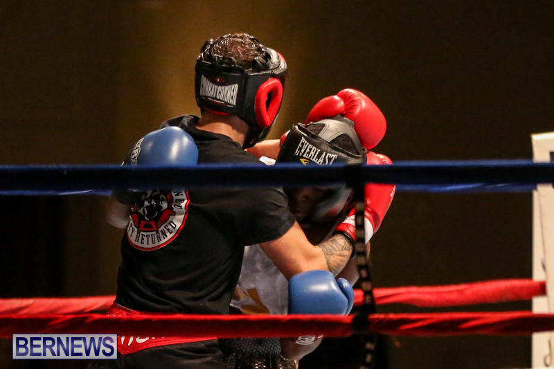 Andre Lambe vs Shane Mello Boxing Match Bermuda, November 7 2015-9