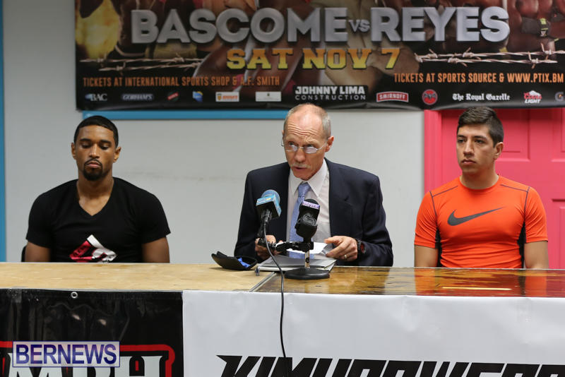 Bascome vs Reyes Fight Weigh In Bermuda, November 6 2015-2