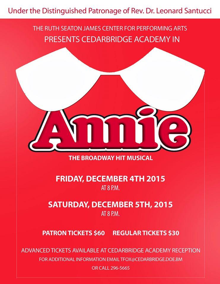 CBA Annie Bermuda Nov 23 2015