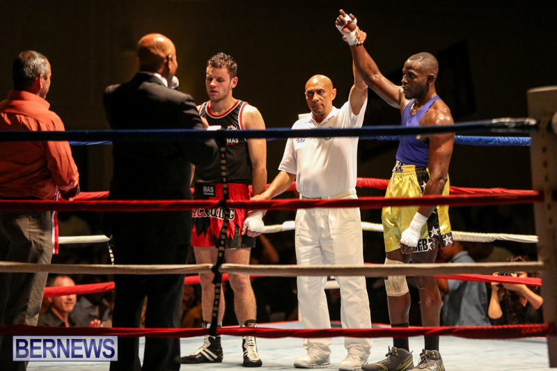 Daniel Avram vs Corey Boyce Boxing Match Bermuda, November 7 2015-19