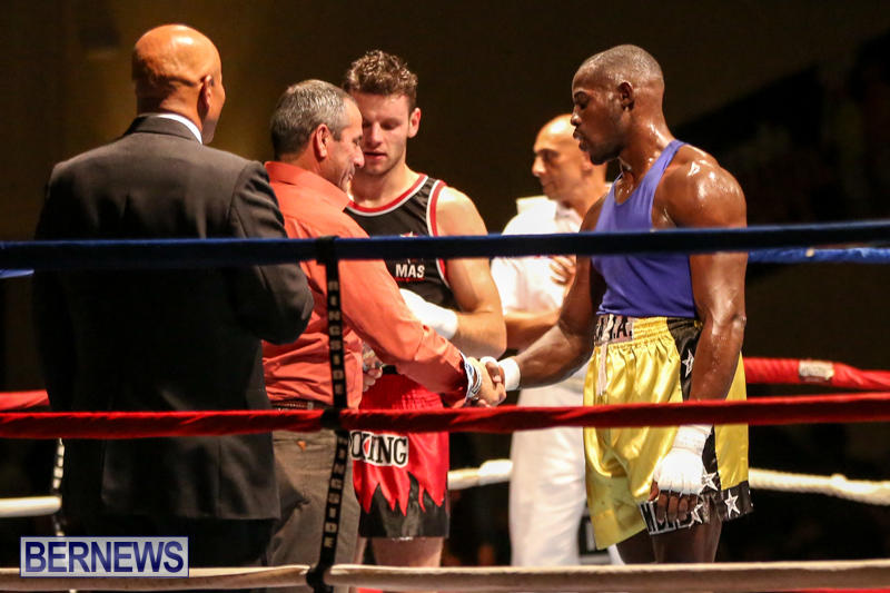 Daniel Avram vs Corey Boyce Boxing Match Bermuda, November 7 2015-20