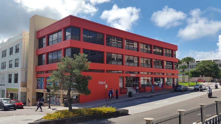 Digicel Bermuda has installed a new 4G cell site in Hamilton Bermuda Nov 16 2015