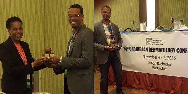 Dr Kyjuan Brown CDA award November 2015 tc