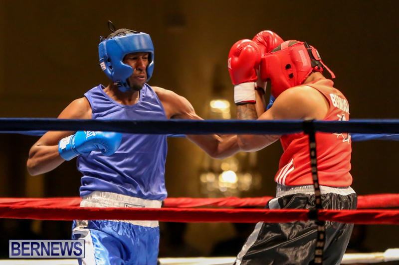 Keanu Wilson vs Courtney Dublin Boxing Match Bermuda, November 7 2015-10